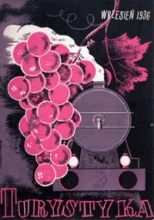 Turystyka, 1936, nr 9