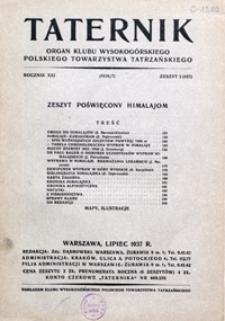 Taternik, 1936/37, nr 5