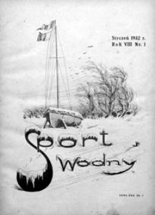Sport Wodny, 1932, nr 1