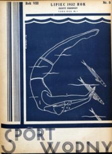 Sport Wodny, 1932, nr 8