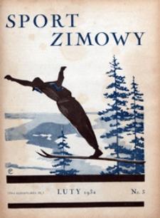 Sport Wodny, 1932; Sport Zimowy nr 3