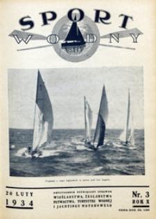 Sport Wodny, 1934, nr 3