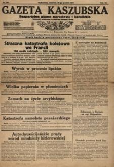 Gazeta Kaszubska 1933, nr 297 (28 grudnia)