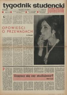 """Tygodnik studencki """"Politechnik"""", 1968, nr 5 (389)"""