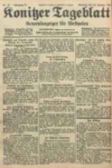 Konitzer Tageblatt.Amtliches Publikations=Organ, nr47