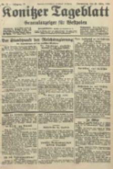Konitzer Tageblatt.Amtliches Publikations=Organ, nr73