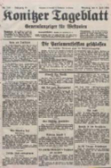 Konitzer Tageblatt.Amtliches Publikations=Organ, nr155