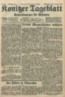 Konitzer Tageblatt.Amtliches Publikations=Organ, nr227