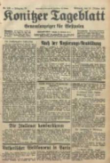 Konitzer Tageblatt.Amtliches Publikations=Organ, nr239