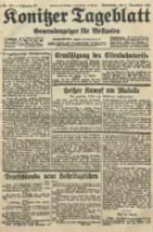 Konitzer Tageblatt.Amtliches Publikations=Organ, nr259
