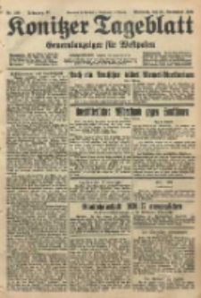 Konitzer Tageblatt.Amtliches Publikations=Organ, nr268
