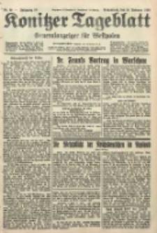 Konitzer Tageblatt.Amtliches Publikations=Organ, nr38
