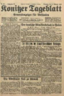 Konitzer Tageblatt.Amtliches Publikations=Organ, nr39