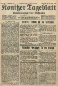 Konitzer Tageblatt.Amtliches Publikations=Organ, nr83