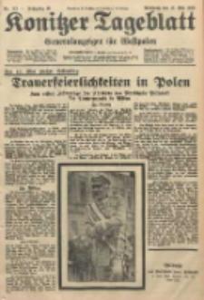 Konitzer Tageblatt.Amtliches Publikations=Organ, nr112