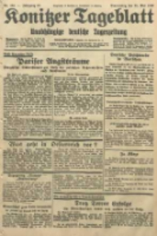 Konitzer Tageblatt.Amtliches Publikations=Organ, nr124