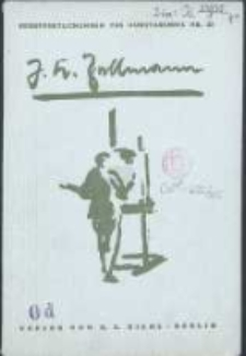 Julius Karl Zellmann : Ausstellung in der Städtischen Kunstkammer Danzig September 1927
