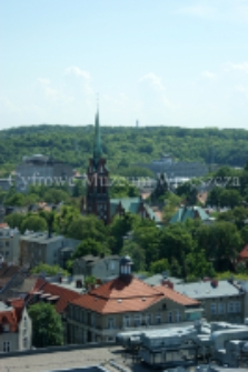 Widok Wrzeszcza z wieżowca Olimp