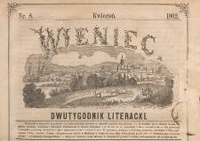 Wieniec : dwutygodnik literacki, 1862, Nr 08
