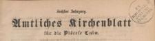 Amtliches Kirchenblatt für die Diöcese Culm, 1907.11.25 nr 11