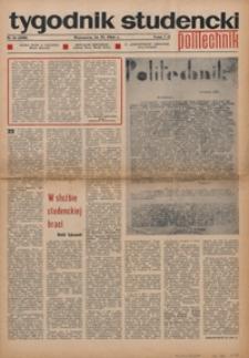 """Tygodnik studencki """"Politechnik"""", 1968, nr 16 (400)"""