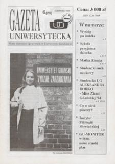 Gazeta Uniwersytecka, 1994, nr 6 (29)