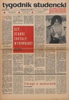 """Tygodnik studencki """"Politechnik"""", 1968, nr 26 (410) B"""