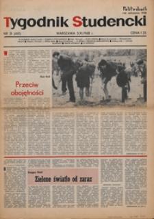 """Tygodnik studencki """"Politechnik"""", 1968, nr 31 (415)"""