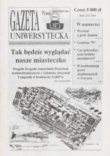 Gazeta Uniwersytecka, 1994, nr 7 (30)