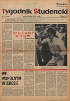 """Tygodnik studencki """"Politechnik"""", 1968, nr 37 (421)"""