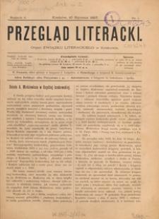 Przegląd Literacki : organ Związku Literackiego w Krakowie, 1897.06.10 nr 11