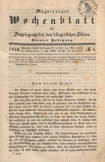 Magdeburger Wochenblatt für Angelegenheiten des Bürgerlichen Lebens, 1846, Nr 24