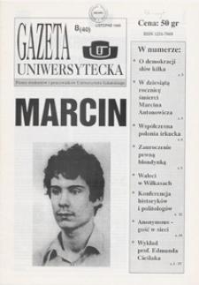 Gazeta Uniwersytecka, 1995, nr 8 (40)