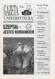 Gazeta Uniwersytecka, 1996, nr 2 (43)