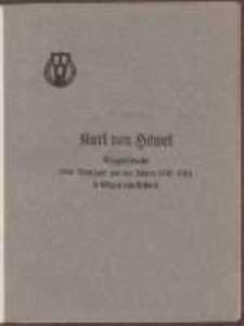 Verzeichnis der Bilder und Skizzen aus den Jahren 1806-1813 : darstellend Kriegserlebnisse in Danzig : nach Augenzeugnis gemalt und gezeichnet