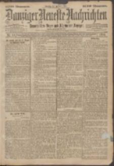 Danziger Neueste Nachrichten : unparteiisches Organ und allgemeiner Anzeiger 10/1896