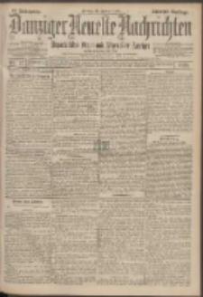Danziger Neueste Nachrichten : unparteiisches Organ und allgemeiner Anzeiger 27/1899