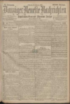 Danziger Neueste Nachrichten : unparteiisches Organ und allgemeiner Anzeiger 45/1899