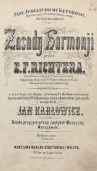 Zasady harmonji [!]