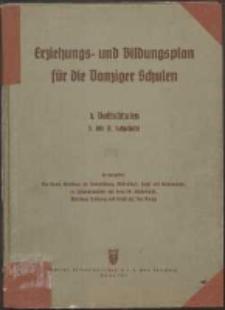 Erziehungs- und Bildungsplan für die Danziger Schulen : B. Mittelschulen