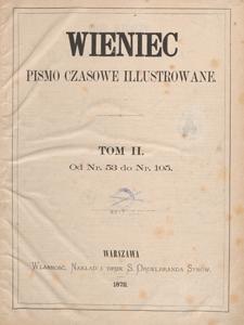 Wieniec : pismo czasowe ilustrowane. R. 1, 1872, nr 83