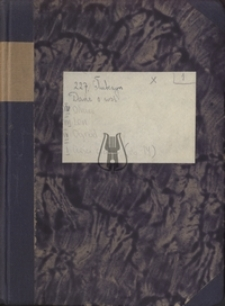 Taborska - Popowska, Hanna (1930- ), 1954 - 1964, Atlas językowy kaszubszczyzny i dialektów sąsiednich, Głubczyn