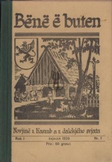 Bënë ë buten, nr1, 1930