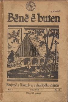 Bënë ë buten, nr2, 1930