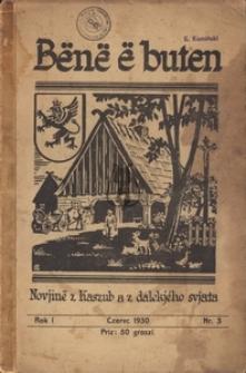 Bënë ë buten, nr3, 1930
