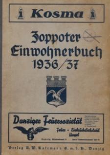 Einwohnerbuch der Stadt Zoppot 1936/1937
