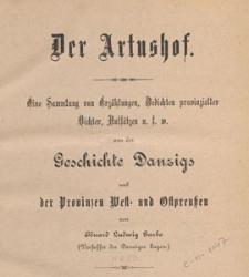 """Der Artushof : (Danziger Volksbibliothek) : Sonntagsbeilage zur """"Danziger Volkszeitung, 1880 nr 18"""