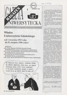 Gazeta Uniwersytecka Magazyn, 1993, nr 1
