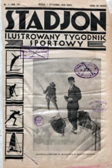 Stadjon, 1930, nr 1