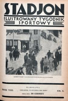 Stadjon, 1930, nr 5